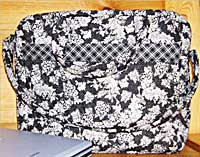 Computer Carrier - Rotary Cut Border Bag Pattern
