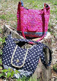 Kentucky Hobo Bag with Flat or Curved Bottom Pattern