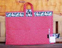 Quilter's Tote - Rotary Cut Border Bag Pattern