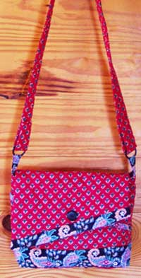 Chloe's Bag - Rotary Cut Border Bag Pattern