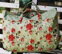 Marie's Roses Carry Bag Pattern