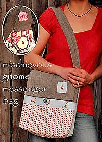 Mischievous Gnome Messenger Bag Pattern *
