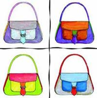 Reflection Flap Handbag Pattern *