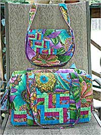 """How to Quilt a Bag With Style: 7 Free Bag Patterns and"