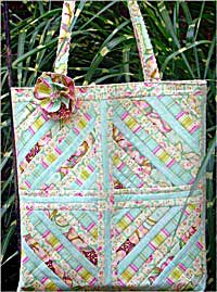 Squared Away Quilted Tote Pattern