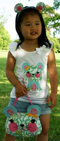 Little Miss Mouse Pattern *