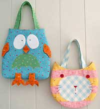 The Owl and The Pussy Cat Bag Pattern