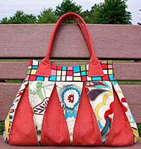 Raspberry Ripple Bag Pattern *