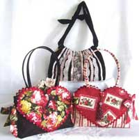 Queen of Hearts Bag Pattern *