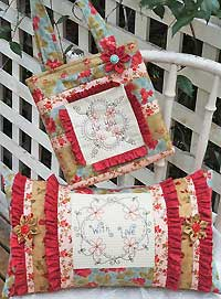 For You With Love Bag and Pillow Pattern