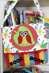 The Little Borrower Book Bag Pattern