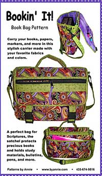 Bookin' It Book Bag Pattern