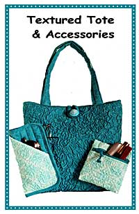 Textured Tote and Accessories Pattern