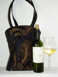 Clarissa Wine Tote Bag Pattern