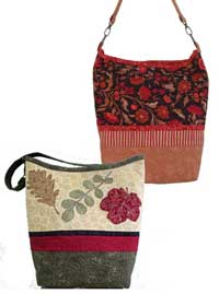 Turning Leaves Tote Pattern