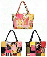 Charm Party Tote Pattern