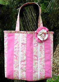 Flower Pin Carry Bag Pattern