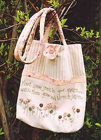 Plant Some Seeds Carry Bag Pattern