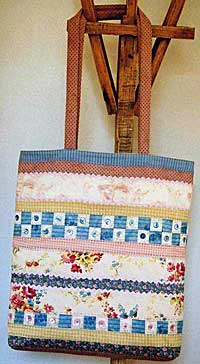 Pretty Strippy Bag Pattern