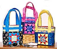 Two Star Tote Bag Pattern