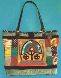 Kenyan Tote Bag Pattern