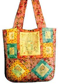 Happiness Is A Garden Tote Bag Pattern