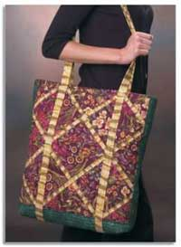 Take Along Zippered Totebag Pattern