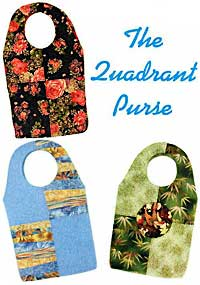 The Quadrant Purse Pattern