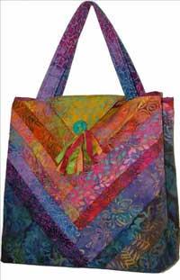 Bali Bag Pattern By Virginia Robertson Designs