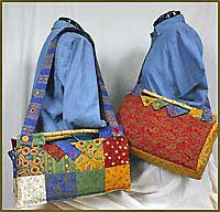 Sophisticated Charm Tote Pattern