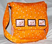 Hot Mama Messenger Style Diaper Bag Pattern *