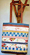 Pretty Strippy Tote Bag Pattern