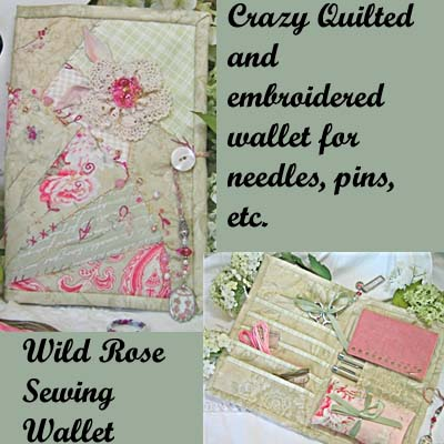 Wild Rose Sewing Wallet Pattern *
