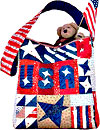 Stars & Stripes Tote Pattern