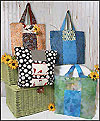 Six Pack Stack Reversible Tote Pattern